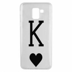 Чохол для Samsung J6 Playing Cards King