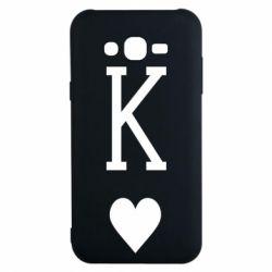Чохол для Samsung J7 2015 Playing Cards King