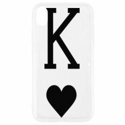 Чохол для iPhone XR Playing Cards King