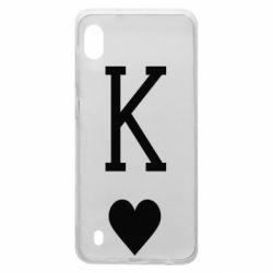 Чохол для Samsung A10 Playing Cards King
