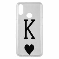 Чохол для Samsung A10s Playing Cards King