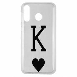 Чохол для Samsung M30 Playing Cards King