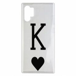 Чохол для Samsung Note 10 Plus Playing Cards King
