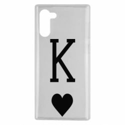 Чохол для Samsung Note 10 Playing Cards King