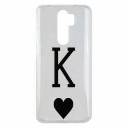 Чехол для Xiaomi Redmi Note 8 Pro Playing Cards King