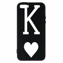Чохол для iphone 5/5S/SE Playing Cards King