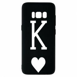 Чохол для Samsung S8 Playing Cards King