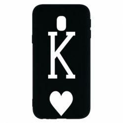 Чохол для Samsung J3 2017 Playing Cards King