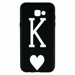 Чохол для Samsung A7 2017 Playing Cards King