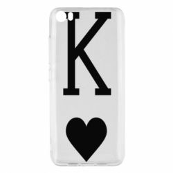 Чохол для Xiaomi Mi5/Mi5 Pro Playing Cards King