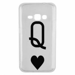Чехол для Samsung J1 2016 Playing Cards Queen