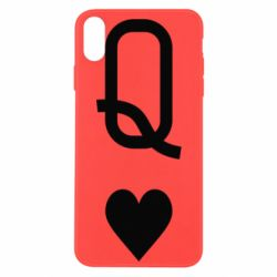 Чехол для iPhone Xs Max Playing Cards Queen