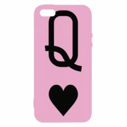 Чехол для iPhone5/5S/SE Playing Cards Queen