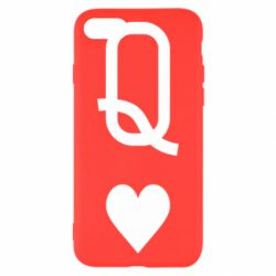 Чехол для iPhone 7 Playing Cards Queen
