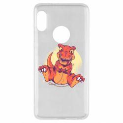 Чехол для Xiaomi Redmi Note 5 Playing dinosaur