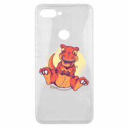 Чехол для Xiaomi Mi8 Lite Playing dinosaur