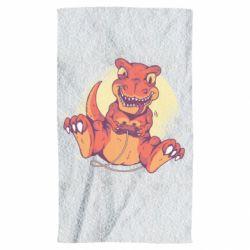 Полотенце Playing dinosaur