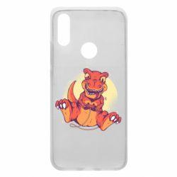 Чехол для Xiaomi Redmi 7 Playing dinosaur