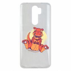 Чехол для Xiaomi Redmi Note 8 Pro Playing dinosaur