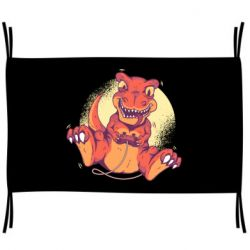 Флаг Playing dinosaur