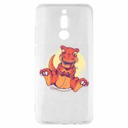 Чехол для Xiaomi Redmi 8 Playing dinosaur