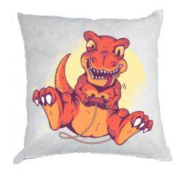 Подушка Playing dinosaur