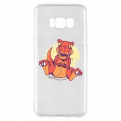 Чехол для Samsung S8 Playing dinosaur