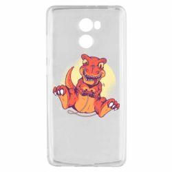 Чехол для Xiaomi Redmi 4 Playing dinosaur