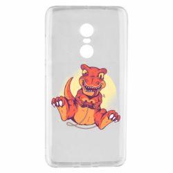 Чехол для Xiaomi Redmi Note 4 Playing dinosaur