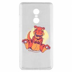Чехол для Xiaomi Redmi Note 4x Playing dinosaur