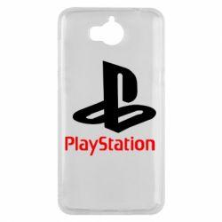 Чохол для Huawei Y5 2017 PlayStation - FatLine