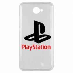 Чохол для Huawei Y7 2017 PlayStation - FatLine