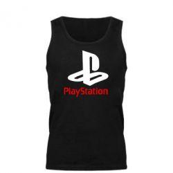Мужская майка PlayStation - FatLine