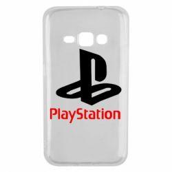 Чохол для Samsung J1 2016 PlayStation - FatLine