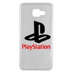 Чохол для Samsung A7 2016 PlayStation - FatLine