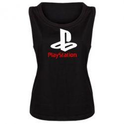 Женская майка PlayStation - FatLine