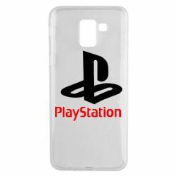 Чохол для Samsung J6 PlayStation - FatLine