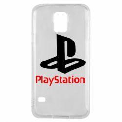 Чохол для Samsung S5 PlayStation - FatLine