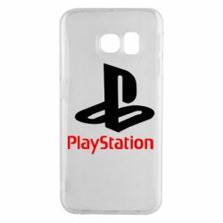 Чохол для Samsung S6 EDGE PlayStation - FatLine
