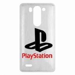 Чохол для LG G3 Mini/G3s PlayStation - FatLine