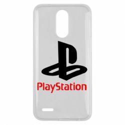 Чохол для LG K10 2017 PlayStation - FatLine