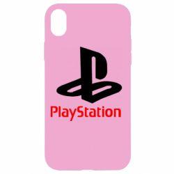 Чохол для iPhone XR PlayStation - FatLine