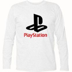 Футболка с длинным рукавом PlayStation - FatLine