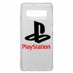 Чехол для Samsung S10+ PlayStation