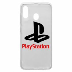 Чехол для Samsung A20 PlayStation