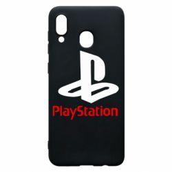 Чехол для Samsung A30 PlayStation