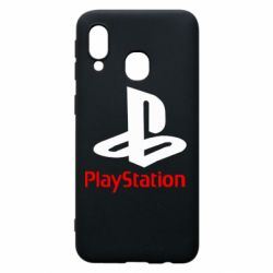 Чехол для Samsung A40 PlayStation