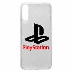 Чехол для Samsung A70 PlayStation