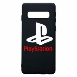 Чехол для Samsung S10 PlayStation