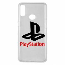 Чехол для Samsung A10s PlayStation